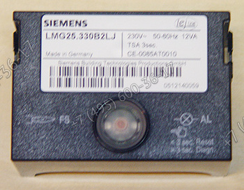 Топочный автомат LMG25.330B2LJ для горелок Lamborghini  EM 3.., EM 6.., EM 9.., FIME 5 S-E