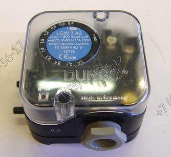 Реле давления воздуха Dungs LGW 3A2 для горелок Lamborghini ЕМ 3.., EM 9.., EM 16.., FIME 5 S-E