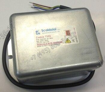 Трансформатор Scaldalai 7333 2x5кВ/30MA 230В/50Гц для горелок Lamborghini 55PM.. - 210 PM.., PG 65.. - PG 150