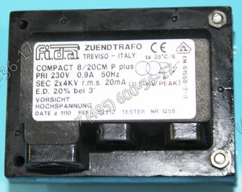 Трансформатор Fida Compact для горелок Lamborghini ECO 3, ECO 3-R